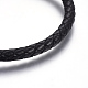 Leather Braided Cord Bracelets(BJEW-E352-16P)-2