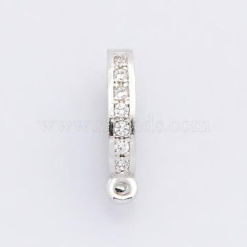 Platinum Brass Clasps
