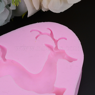 HotPink Deer Silicone