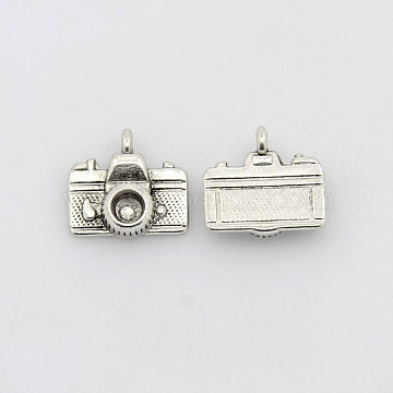 Antique Silver Electrical Appliance Alloy Charms