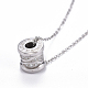 304 Stainless Steel Pendant Necklaces(NJEW-I232-30)-4