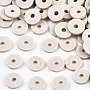 Eco-Friendly Handmade Polymer Clay Beads, Disc/Flat Round, Heishi Beads, Gainsboro, 8x0.5~1mm, Hole: 2mm, about 13000pcs/1000g
