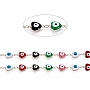 Colorful Brass+Enamel Link Chains Chain(CHC-D026-09P)