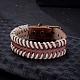 Casual Unisex Braided Leather Bracelets(BJEW-BB15591)-2