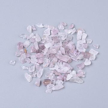 2mm Chip Rose Quartz Beads
