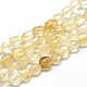 Natural Citrine Beads Strands(X-G-R445-8x10-16)-1