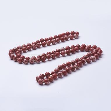 Red Regalite Necklaces
