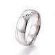 Simple Fashion 304 Stainless Steel Rings(RJEW-K228-06P)-1