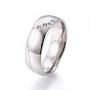 Stainless Steel Finger Rings(RJEW-K228-06P)