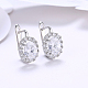 Brass Cubic Zirconia Hoop Earrings(EJEW-BB31666-B)-4