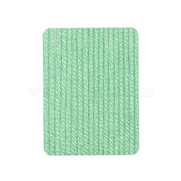 Baby Yarns, with Cotton, Silk and Cashmere, MediumAquamarine, 1mm; about 50g/roll, 6rolls/box(YCOR-R028-YBB10)