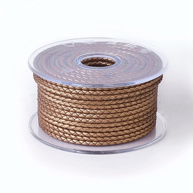 3mm Camel Cowhide Thread & Cord