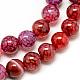 Natural Dragon Veins Agate Beads Strands(X-G-Q948-81G-8mm)-1