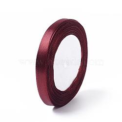 """3/8"""" ruban de satin foncé (10 mm) pour la décoration de fête diabolique, 25yards / roll (22.86m / roll)(X-RC10mmY048)"""