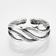 Adjustable Alloy Cuff Finger Rings(RJEW-N027-09)-2