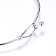 304 Stainless Steel Bangles(X-STAS-S053-26)-2