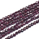 Natural Garnet Beads Strands(G-D0003-A48)-1