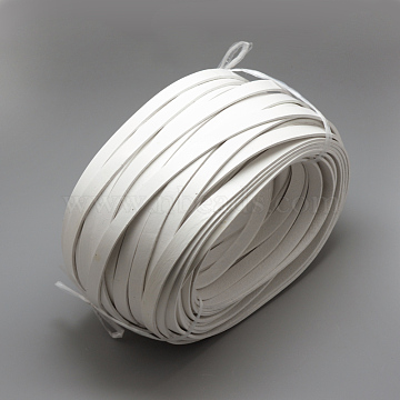 10mm White Cowhide Thread & Cord