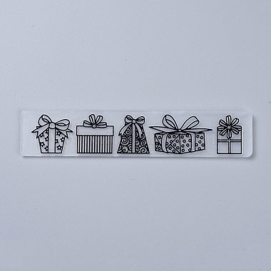 Plastic Embossing Folders(X-DIY-P007-D05)-1