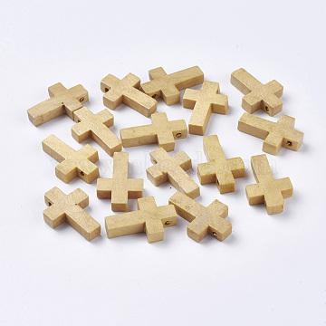 Wood Pendants, Cross Pendants, Camel, 22x14x4mm, Hole: 2mm(WOOD-MSMC002-04)