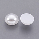 ABS Plastic Imitation Pearl Cabochons(SACR-S738-8mm-Z9)-2