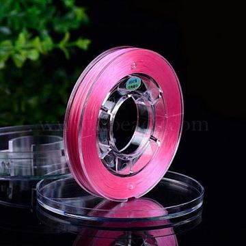 Fil de fibre élastique, teint, 0.8 mm; environ 40 m/rouleau(EW-N005-03)