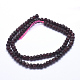 Natural Garnet Beads Strands(G-K223-26-5mm)-2