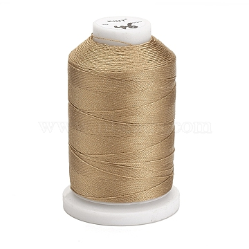 Nylon Thread, Sewing Thread, 3-Ply, Tan, 0.3mm; about 500m/roll(NWIR-E034-A-46)