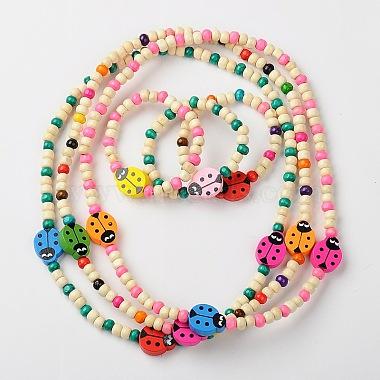 Mixed Color Wood Bracelets & Necklaces