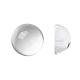 Transparent Half Round Glass Cabochons(X-GGLA-R027-18mm)-1