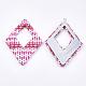 Handmade Raffia Woven Big Pendants(WOVE-T005-39I)-2