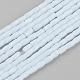 Opaque Color Glass Beads Strands(GLAA-P035-5x3mm-A11)-1