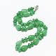Natural Malaysia Jade Beaded Necklaces(NJEW-S389-22)-1