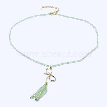 Prehnite Necklaces