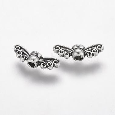 Tibetan Style Alloy Fairy Wing Beads(X-TIBEB-6007-AS-LF)-2