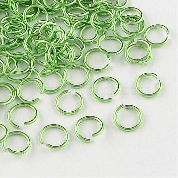 LawnGreen Ring Aluminum Open Jump Rings