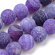 Natural Weathered Agate Beads Strands(X-G-S259-05B-8mm)-1