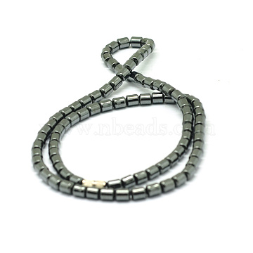 Non-Magnetic Synthetic Hematite Beaded Necklaces, 18inches(NJEW-E086-03)