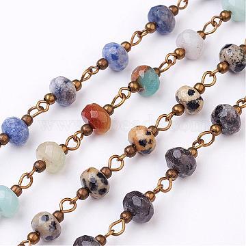 Mixed Stone Handmade Chains Chain