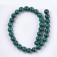 Synthetic Malachite Beads Strands(G-S333-6mm-028)-2