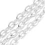 Gainsboro Aluminum Cross Chains Chain(CHA-S001-020A)