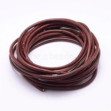 4mm Sienna Cowhide Thread & Cord