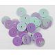 Plastic Paillette/Sequins Beads(X-PVC6mm07Y)-1
