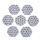 Spray Painted Acrylic Woven Beads(FIND-T044-29A)-1