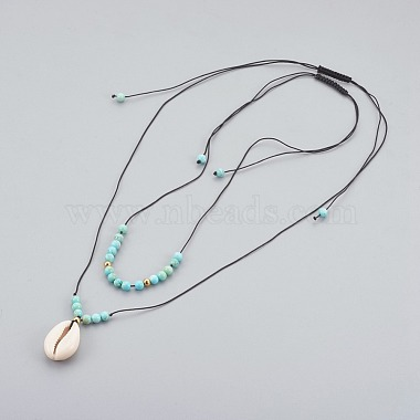 Black Natural Turquoise Necklaces