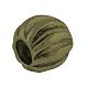 Rondelle Alloy Corrugated Beads(TIBEB-7701-AB-NR)-2