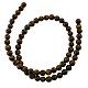 Natural Tiger Eye Beads Strands(GSR4mmC014)-2