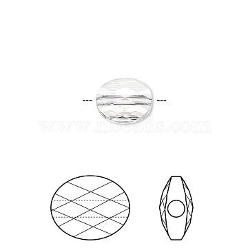 Brass Micro Pave Clear Cubic Zirconia Shank Buttons, Flat Round with Cross, Platinum, 10.5x4.5mm, Hole: 1.2mm(KK-H738-21P)