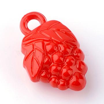 Red Fruit Acrylic Pendants
