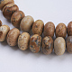 Natural Picture Jasper Beads Strands(G-P354-04-8x5mm)-3